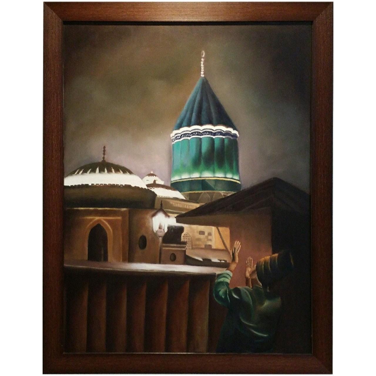 تابلو نقاشی گالری زند مقبره حضرت مولانا