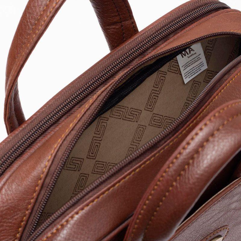 کیف دستی چرم ما مدل SM-12 -  - 29