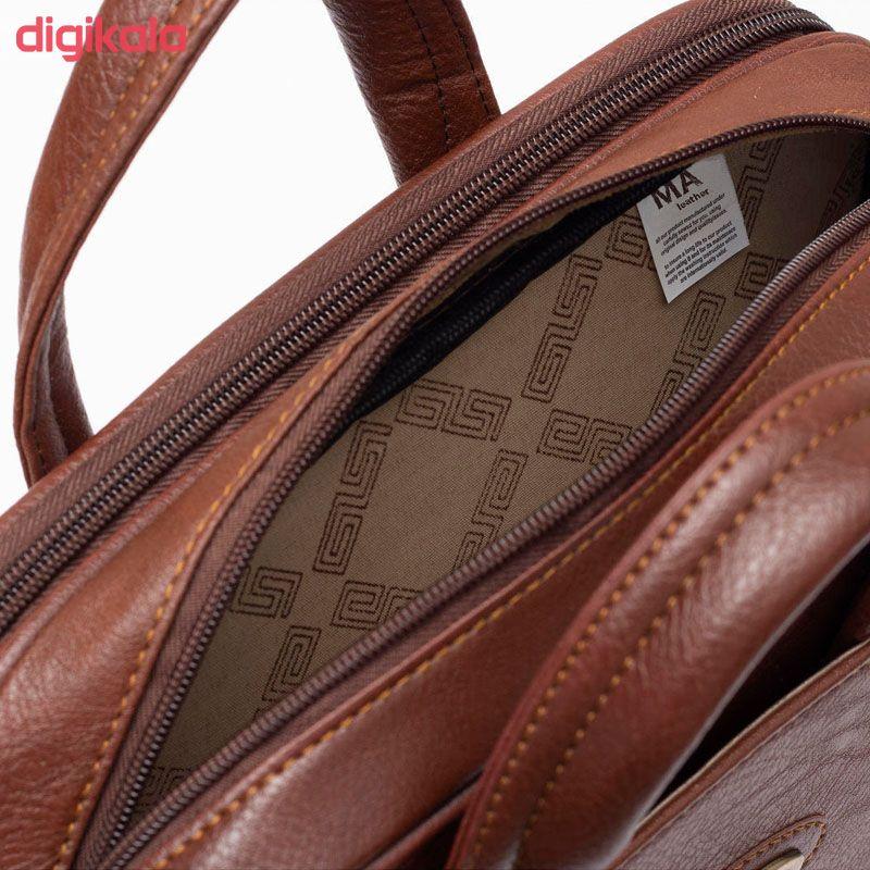 کیف اداری مردانه چرم ما مدل HA main 1 5