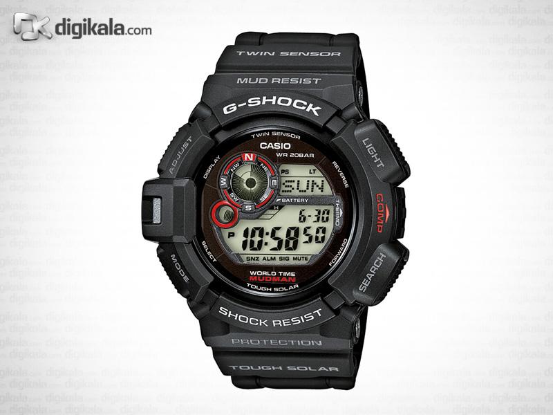ساعت مچی دیجیتال مردانه کاسیو جی-شاک G-9300-1DR -  - 2