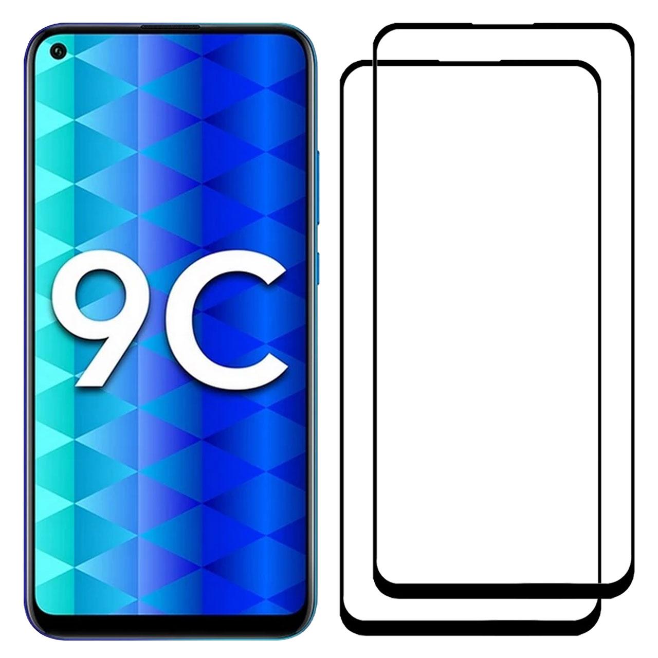 محافظ صفحه نمایش مدل FCG مناسب برای گوشی موبایل آنر 9C بسته دو عددی