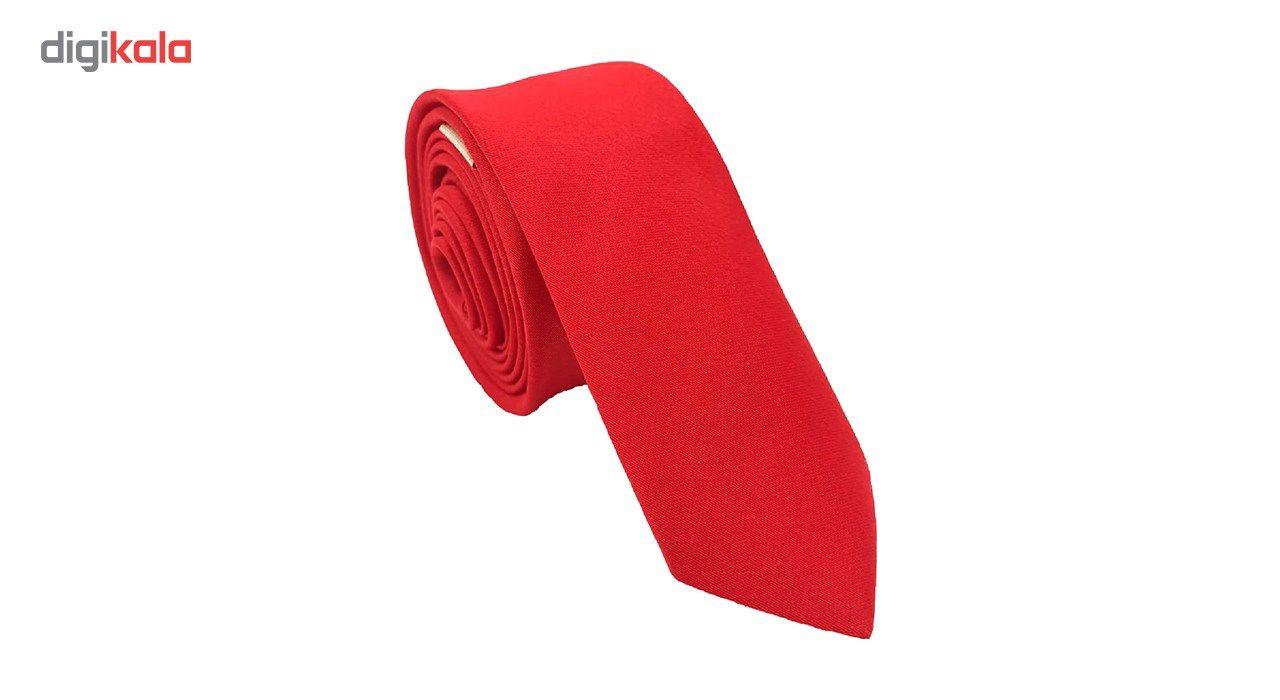 کراوات مردانه هکس ایران مدل KS-SORKHABI -  - 5