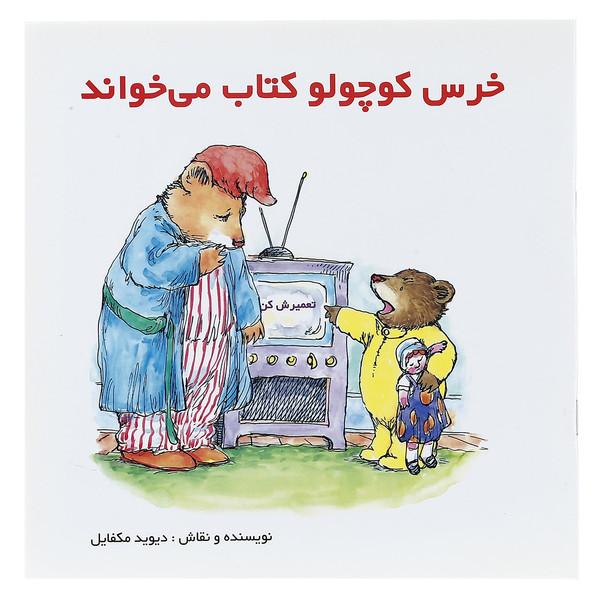 کتاب خرس کوچولو کتاب می خواند اثر دیوید مکفایل