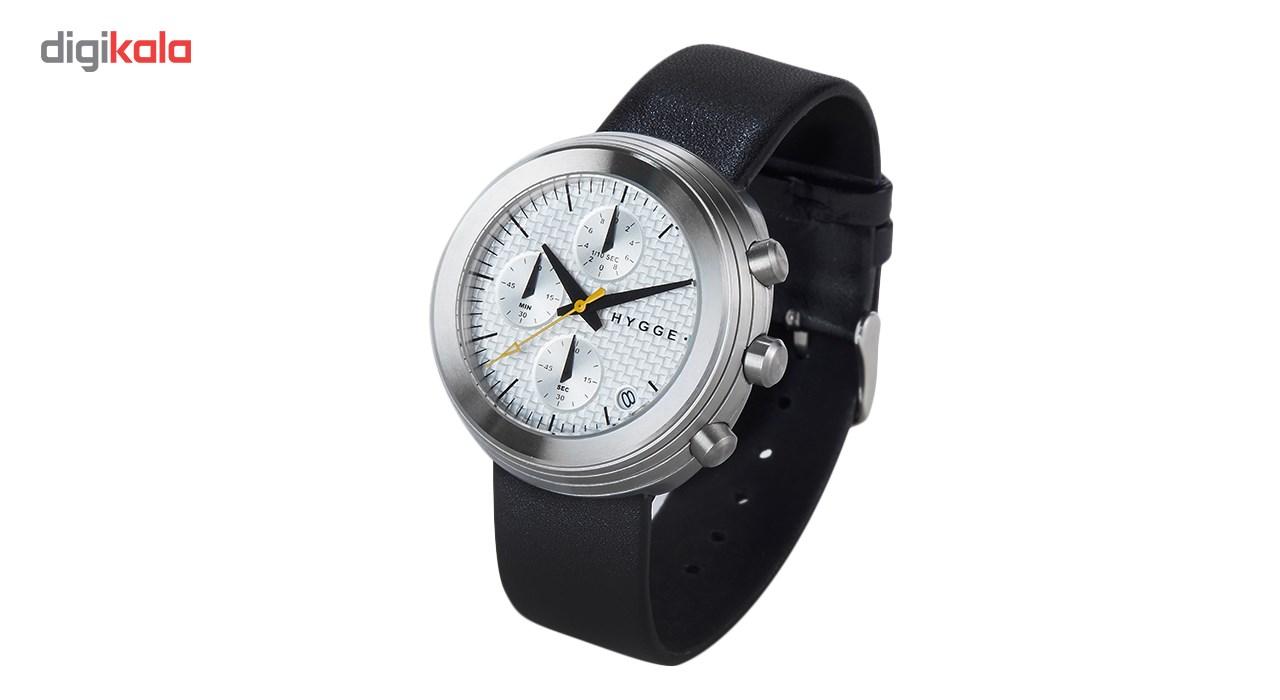 ساعت مچی عقربه ای مردانه هیگه مدل MSL2312C-CH