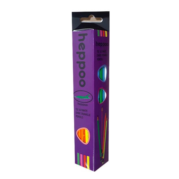 مداد رنگی هیپو مدل m07246 بسته 12 عددی