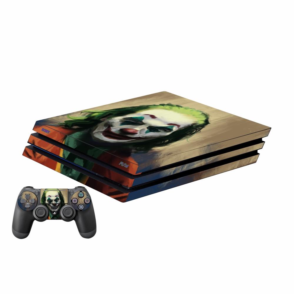 بررسی و {خرید با تخفیف}                                     برچسب پلی استیشن 4 اسلیم پلی اینفینی مدل Joker 06 به همراه برچسب دسته                             اصل
