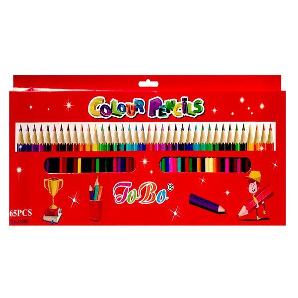 مداد رنگی 65 رنگ توبا کد 21865