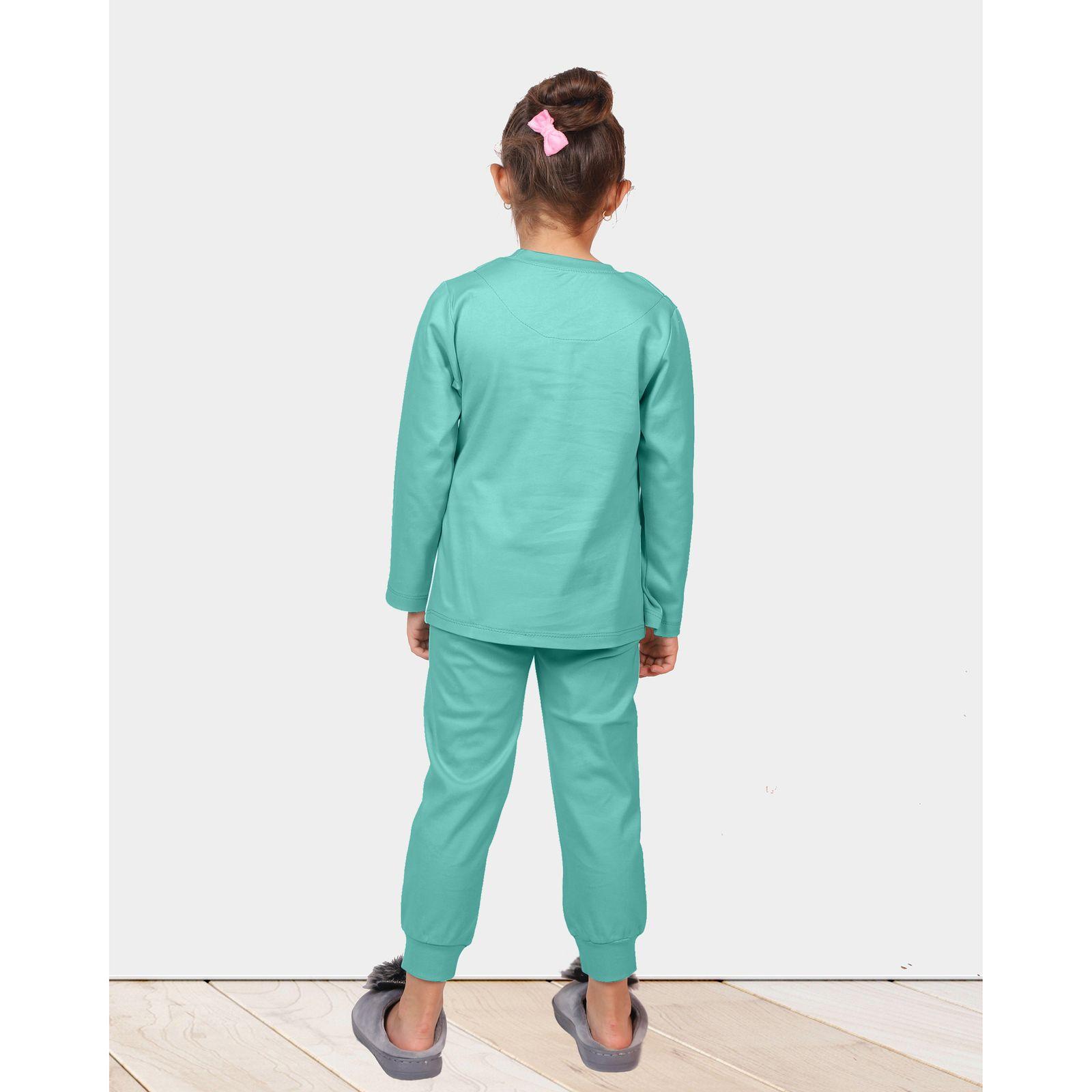 ست تی شرت و شلوار دخترانه مادر مدل 301-54 main 1 10