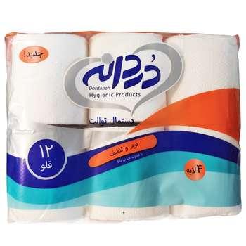 دستمال توالت دردانه مدل Soft بسته 12 عددی