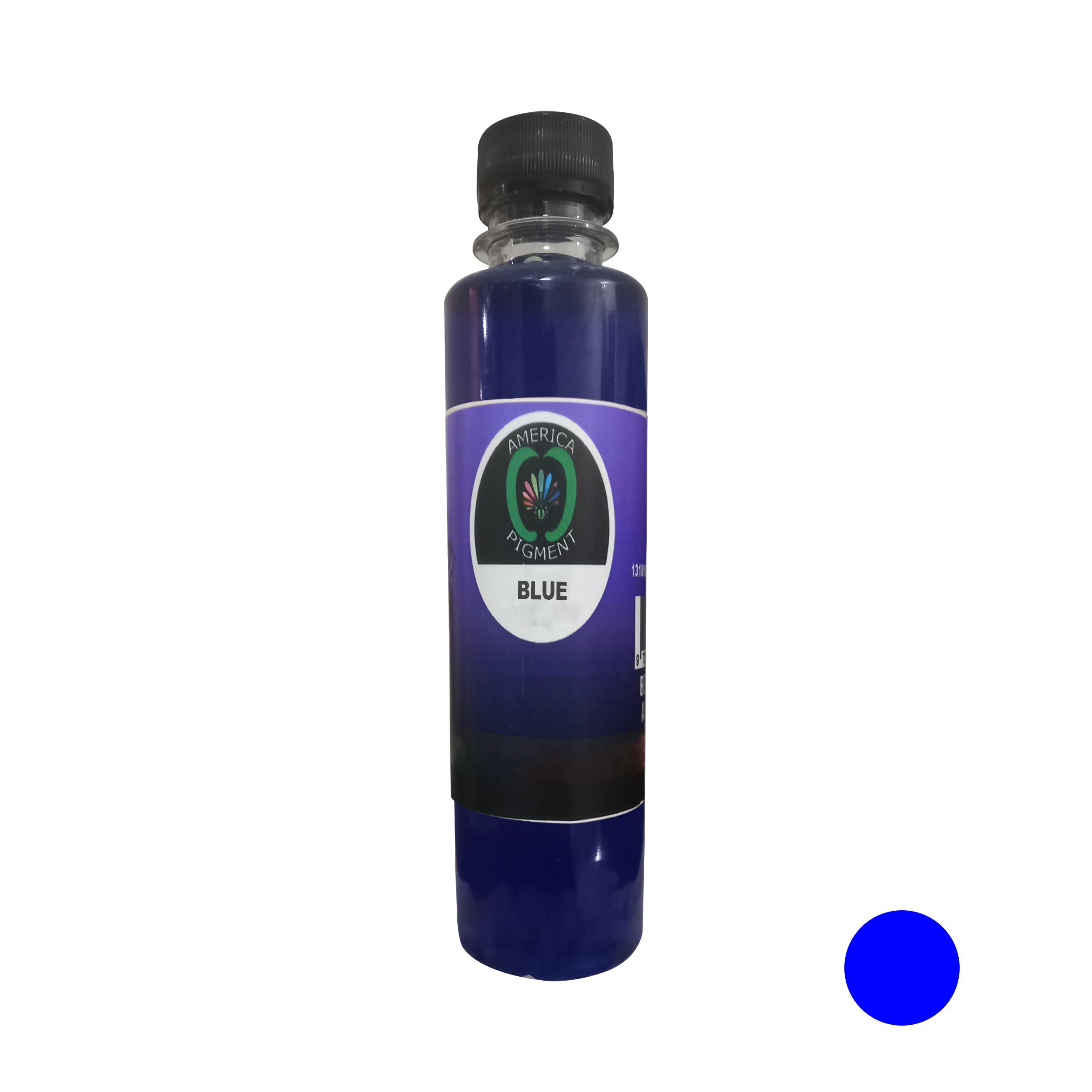 لیکویید رنگ مو آمریکاپیگمنت شماره 009 حجم 250 میلی لیتر رنگ آبی