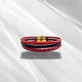 دستبند چرم وارک مدل دایان کد rb338 thumb 4