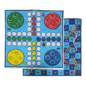 بازی فکری اطلس مدل f45 طرح منچ و مارپله