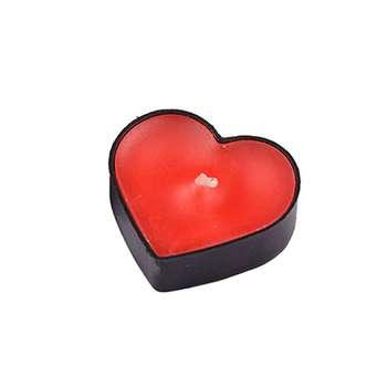 شمع وارمر مدل قلب بسته 5 عددی