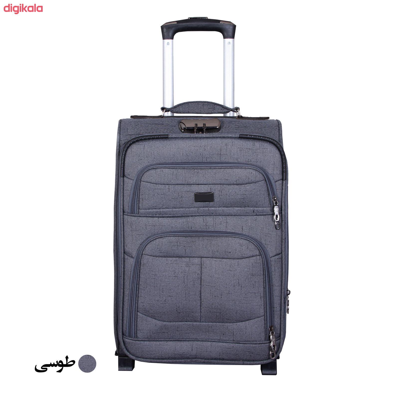 مجموعه سه عددی چمدان کد 2301A main 1 4