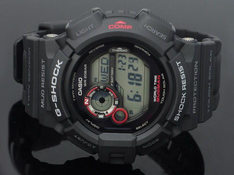 ساعت مچی دیجیتال مردانه کاسیو جی-شاک G-9300-1DR -  - 5