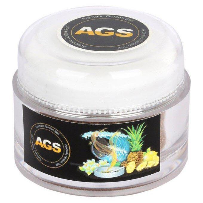 خاک معطر طلایی آگس مدل Lemon وزن 50 گرم