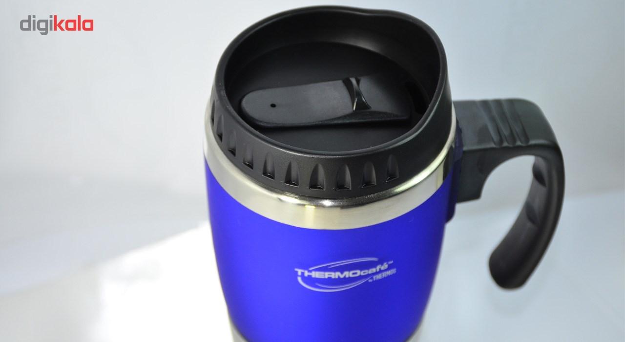 ماگ سفری ترموس مدل DF119Blue  ظرفیت 0.450 لیتر