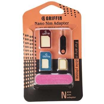 تبدیل سیم کارت های نانو و میکرو به استاندارد گریفین 5 در 1