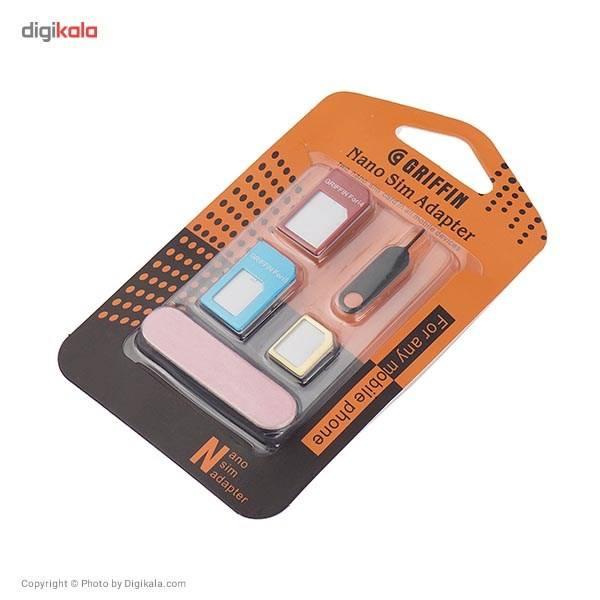 تبدیل سیم کارت های نانو و میکرو به استاندارد گریفین 5 در 1 main 1 2