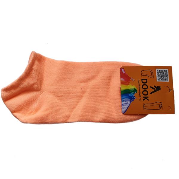 جوراب زنانه دوک کد SS_O رنگ نارنجی روشن