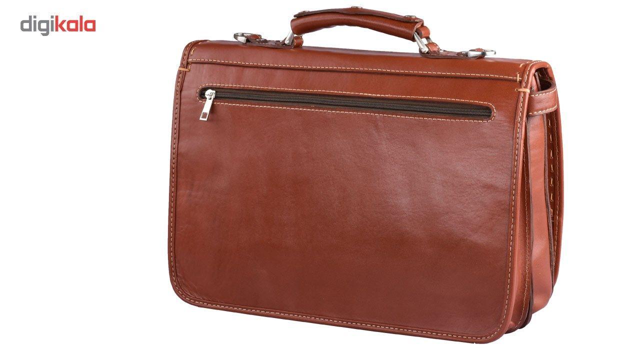 کیف اداری چرم طبیعی کهن چرم مدل L61-1 main 1 2