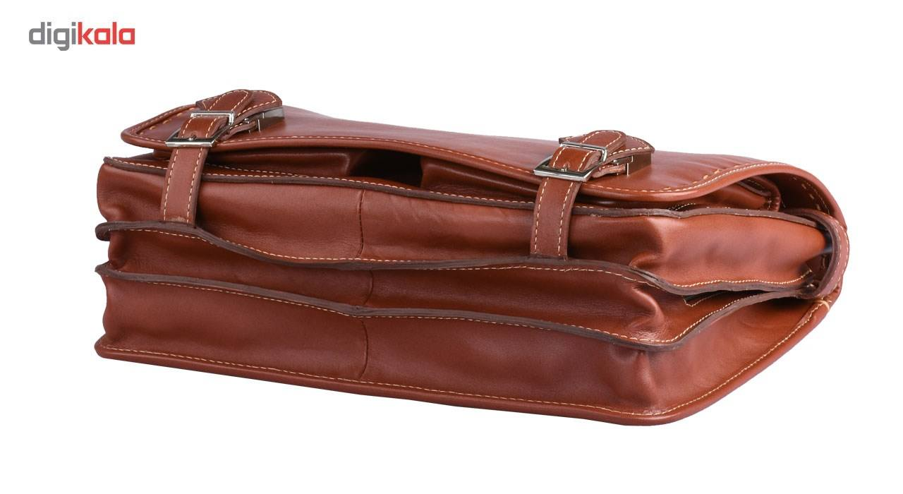 کیف اداری چرم طبیعی کهن چرم مدل L61-1 main 1 4