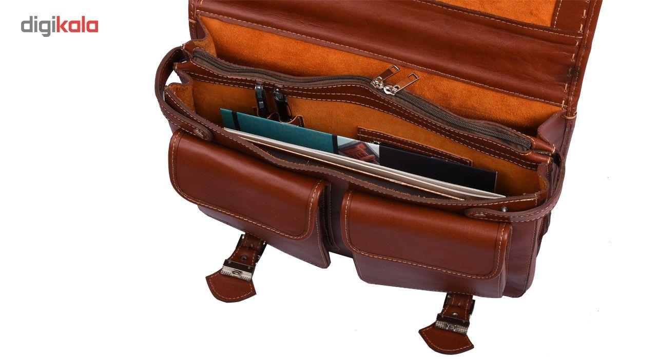 کیف اداری چرم طبیعی کهن چرم مدل L61-1 main 1 5