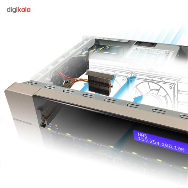 ذخیره ساز تحت شبکه کیونپ مدل TVS-863-4G بدون هارددیسک