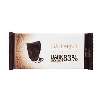 شکلات تلخ 83 درصدگالاردو فرمند مقدار 65 گرم
