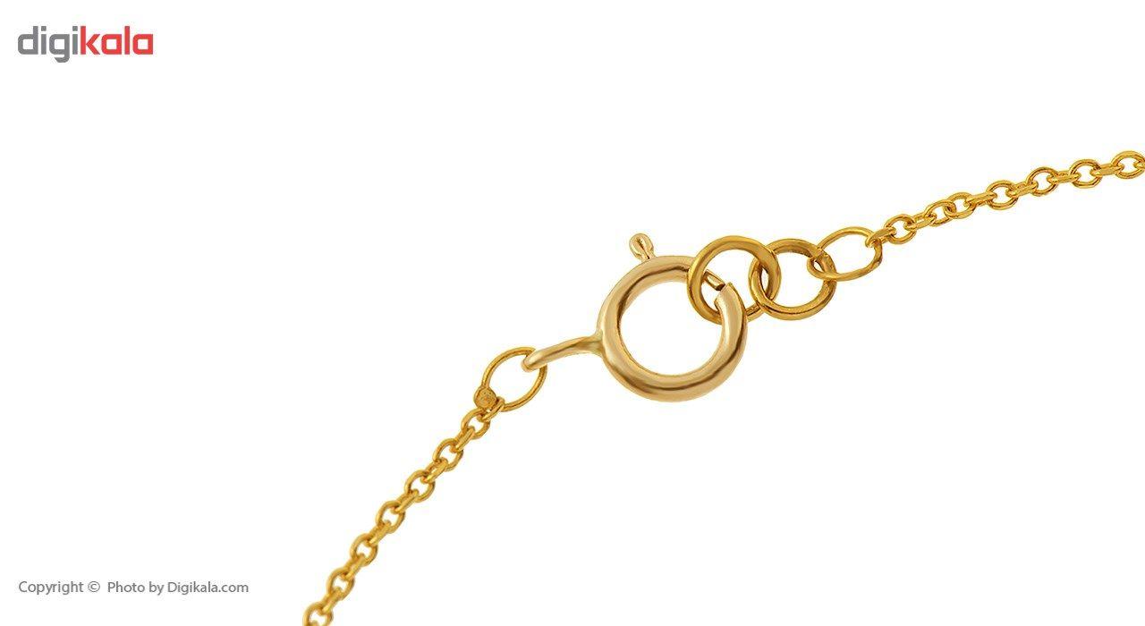 دستبند طلا 18 عیار ماهک مدل MB0176 - مایا ماهک -  - 1