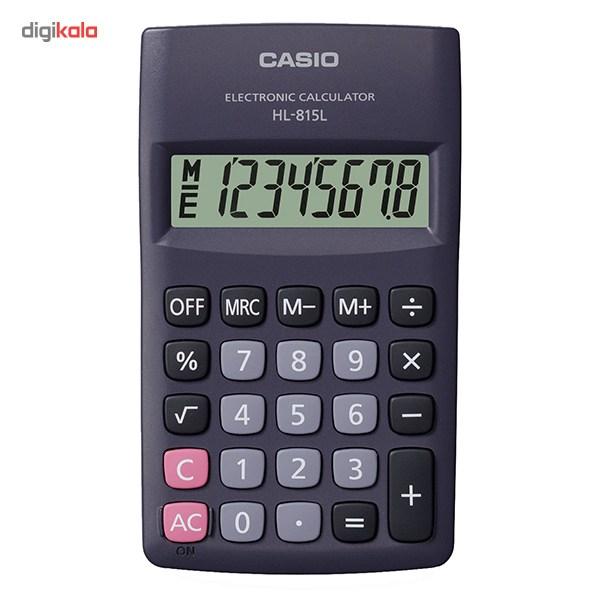 قیمت                      ماشین حساب کاسیو HL-815 LBK