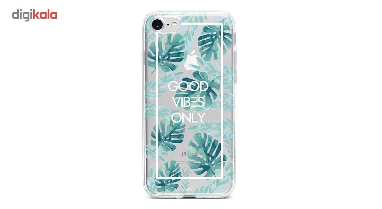 کاور  ژله ای وینا مدل  Good Vibes Only مناسب برای گوشی موبایل آیفون 7 و 8 main 1 1