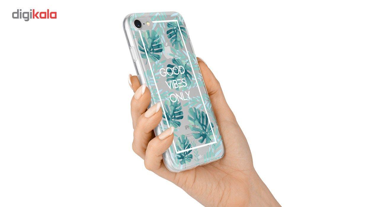 کاور  ژله ای وینا مدل  Good Vibes Only مناسب برای گوشی موبایل آیفون 7 و 8 main 1 2