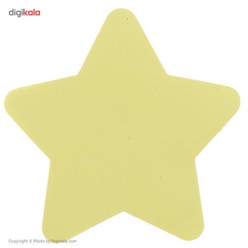 کاغذ یادداشت چسب دار فنس طرح ستاره کد 9223 بسته 100 عددی