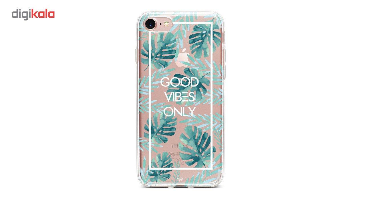 کاور  ژله ای وینا مدل  Good Vibes Only مناسب برای گوشی موبایل آیفون 7 و 8 main 1 3