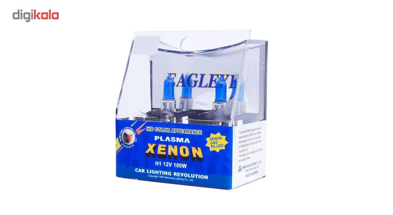 لامپ خودرو ایگل مدل H1 12V 100 W Plasma Xenon بسته 2 عددی main 1 3