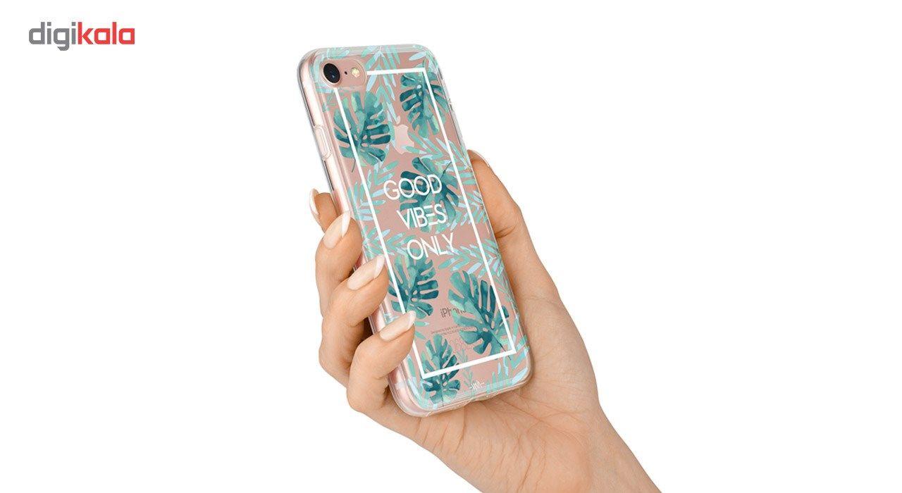 کاور  ژله ای وینا مدل  Good Vibes Only مناسب برای گوشی موبایل آیفون 7 و 8 main 1 4
