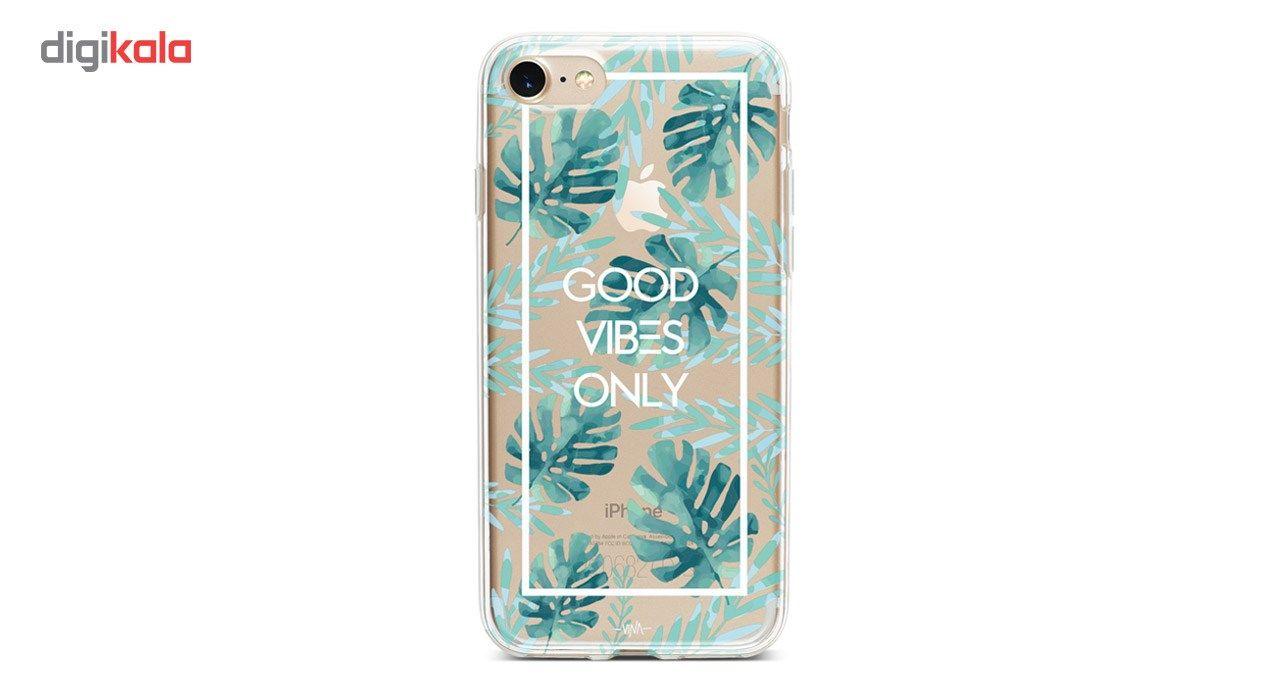 کاور  ژله ای وینا مدل  Good Vibes Only مناسب برای گوشی موبایل آیفون 7 و 8 main 1 5