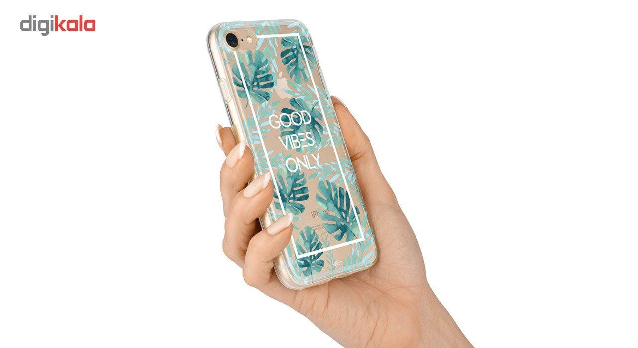 کاور  ژله ای وینا مدل  Good Vibes Only مناسب برای گوشی موبایل آیفون 7 و 8 main 1 6