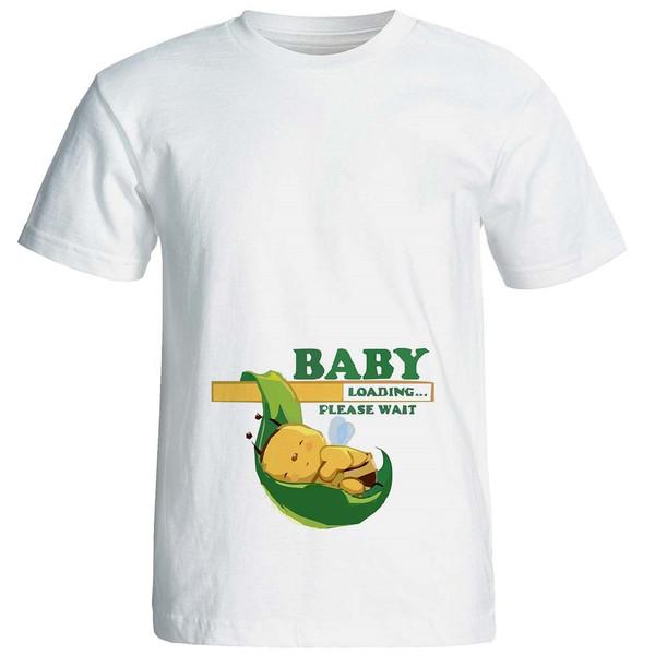 تیشرت بارداری نوین نقش طرحp512