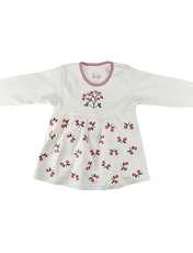 ست 3 تکه لباس نوزادی نیروان طرح گل کد 3 -  - 3