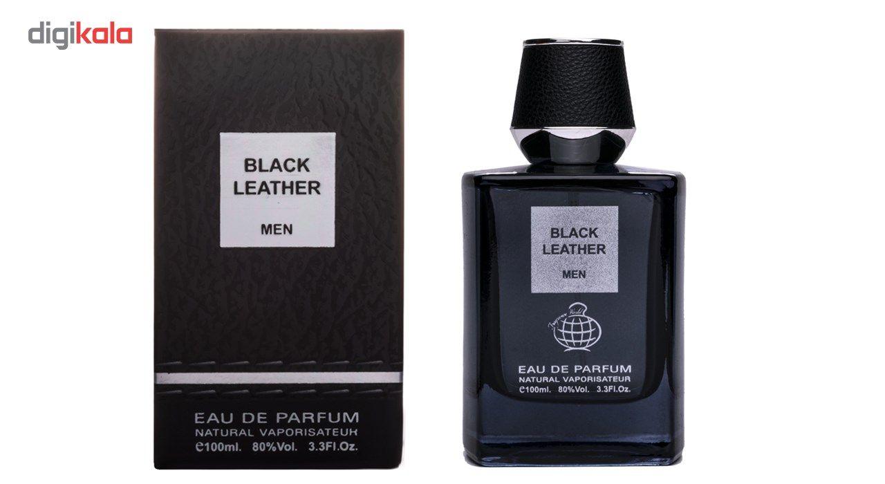 ادو پرفیوم مردانه فراگرنس ورد مدل Black Leather حجم 100 میلی لیتر main 1 2