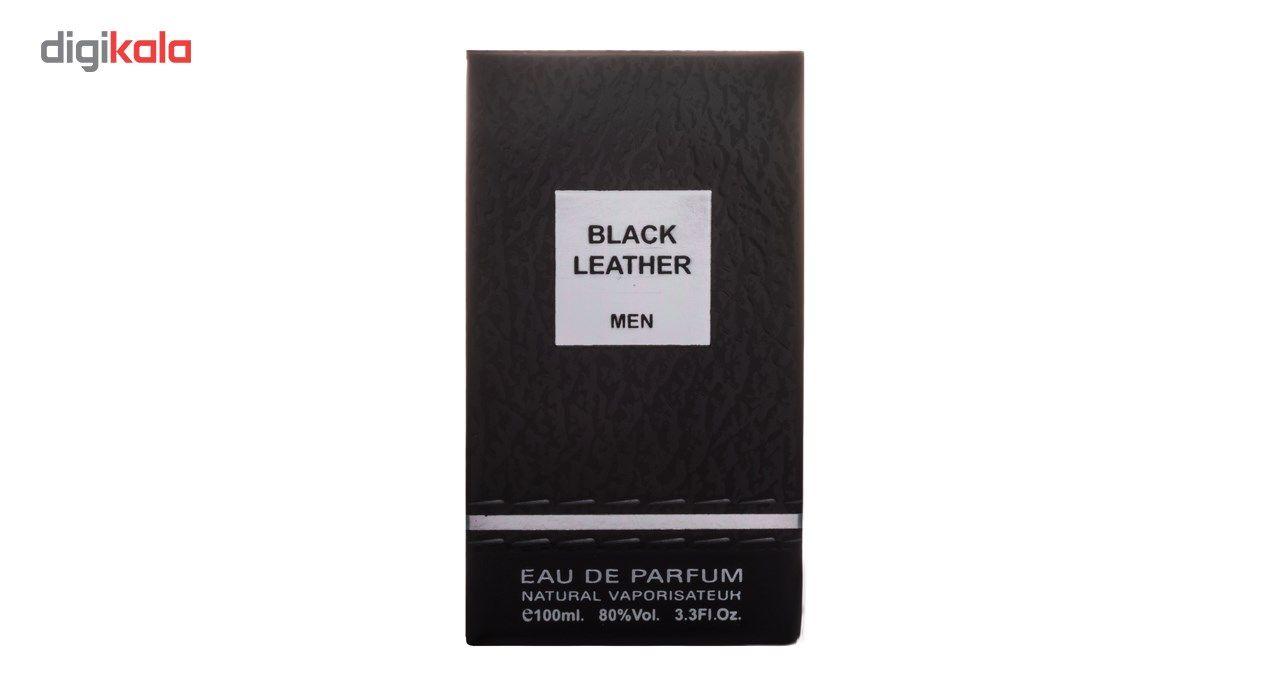 ادو پرفیوم مردانه فراگرنس ورد مدل Black Leather حجم 100 میلی لیتر main 1 4