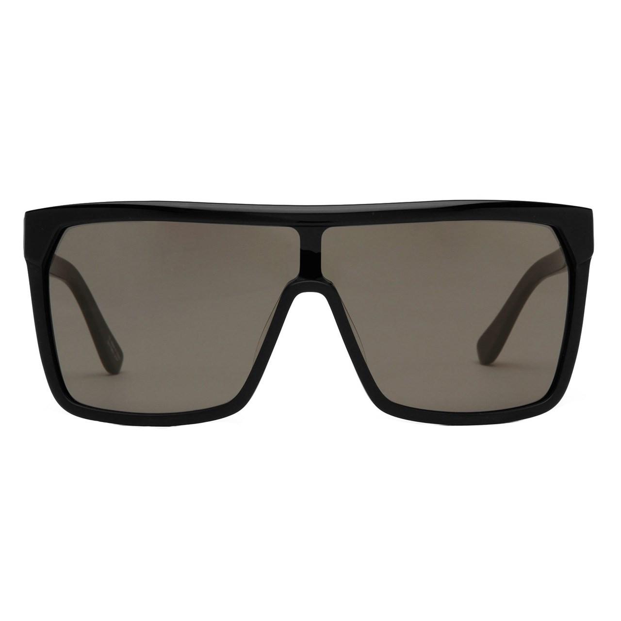 عینک آفتابی اسپای سری Flynn مدل Shiny Black Matte Black Gray