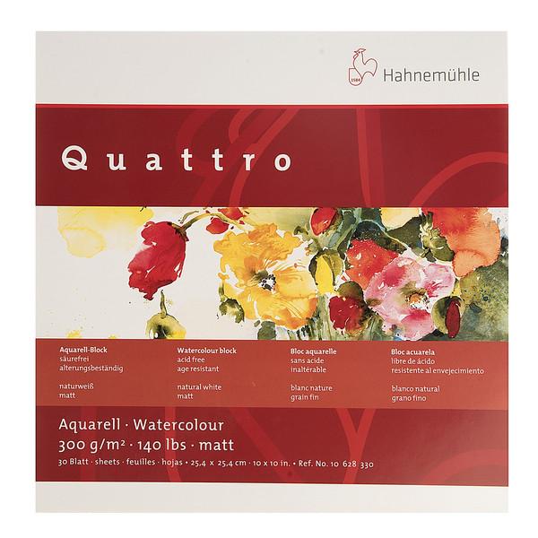 بوم آبرنگ دفترچهای هانه موله مدل Quattro سایز 25.4 × 25.4 سانتیمتر 30 برگ