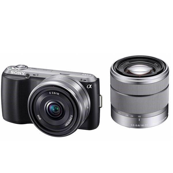 دوربین دیجیتال سونی آلفا ان ایی ایکس - سی 3 (دو لنز)