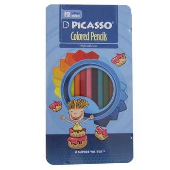مداد رنگی 12 رنگ پیکاسو مدل superb writerTM