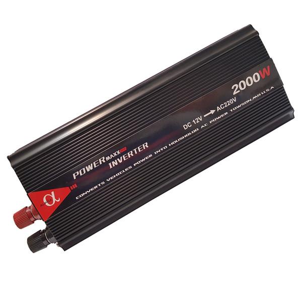 مبدل برق خودرو آلفا مدل 12V-TO-220V-2000W