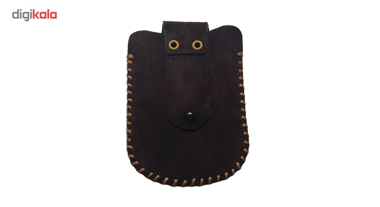 کیف پاسپورتی چرم طبیعی مانی چرم مدل BG-108