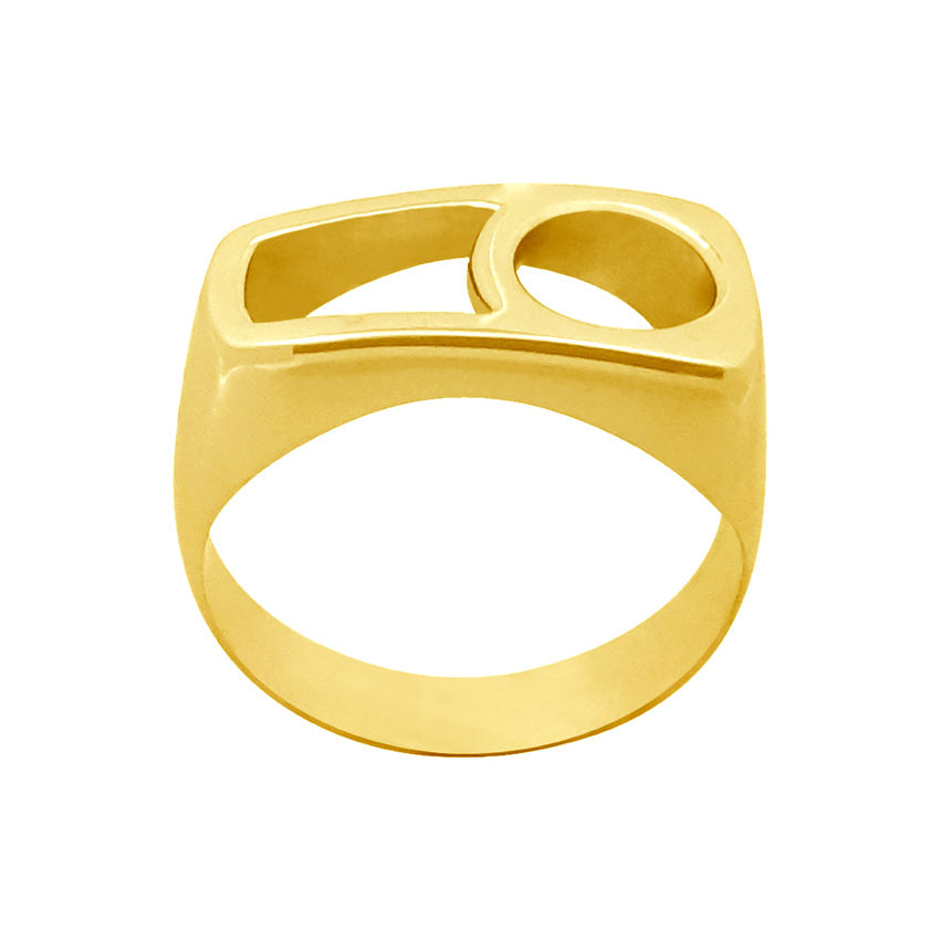 انگشترنقره  زنانه کد R207Pgo -  - 4